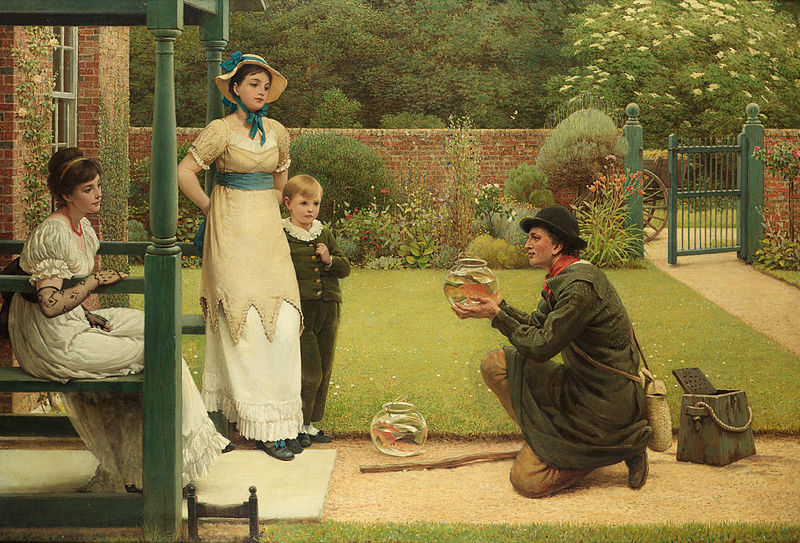 File:Leslie George Dunlop - The Goldfish Seller.jpg