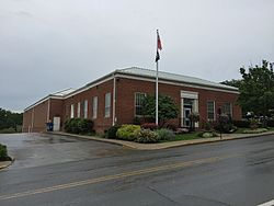 Lewisburg post office in 2016