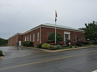 Lewisburg, West Virginia - Lewisburg post office in 2016
