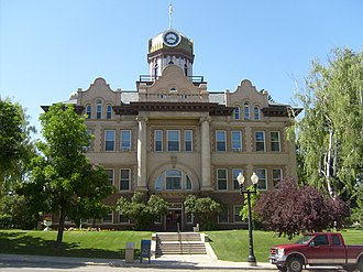 Fergus County, Montana - Image: Lewistown MT Fergus County Courthouse
