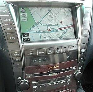 Telematics - Lexus Gen V navigation system