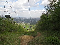 Chairlifts in Buda