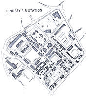 Lindsey Air Station map