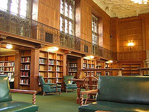 Linonian Society - The Linonia and Brothers Room in the Sterling Memorial Library at Yale