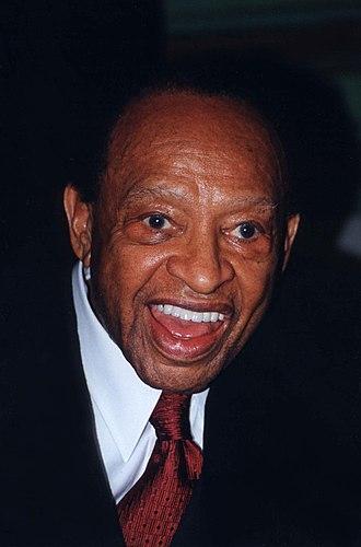 Lionel Hampton - Hampton in 2001