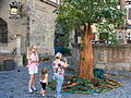 Living statue rothenburg.jpg
