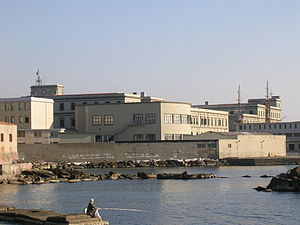 Italian Naval Academy - A view from the waterfront of L'Accademia Navale
