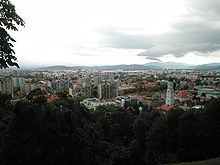 Ljubljana Skyline from castle.jpg