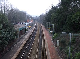 Llanishen Station, Cardiff - geograph.org.uk - 1678670.jpg