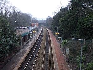 Llanishen railway station - Image: Llanishen Station, Cardiff geograph.org.uk 1678670