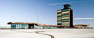 Lleida–Alguaire Airport - Image: Lleida airport 1