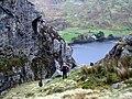 Llyn Cwellyn from the bank of Afon Goch. - geograph.org.uk - 612725.jpg