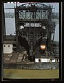 Loading coal into a lake freighter at the Pennsylvania Railroad docks, Sandusky, Ohio LCCN2017878195.jpg