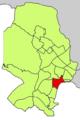 Localització de Son Armadams respecte del Districte de Ponent.png