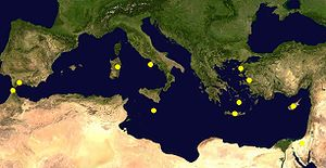 Location hypothesis of Atlantis in Mediterrane...