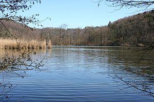 Swabian-Franconian Forest - Lake Bleichsee near Löwenstein