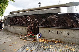 Londres, Le mémorial The Battle of Britain.jpg