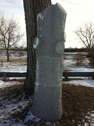 Central City, Nebraska - Lone Tree