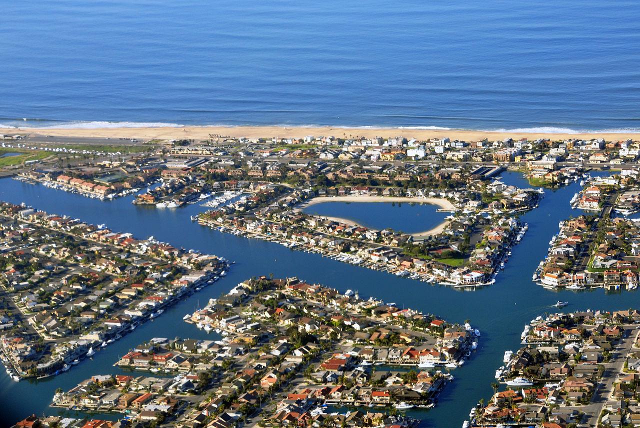 Long Beach Aerial View
