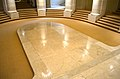Looking from altar at marble thrust in chapel - Memorial Amphitheater - Arlington National Cemetery - 2013-03-15.jpg