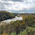 Looking up the Shenandoah River (22295392021).jpg