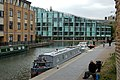 Looking west towards City Road Basin, Regents Canal, Islington - geograph.org.uk - 1522167.jpg