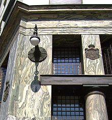 Looshaus Detailansicht