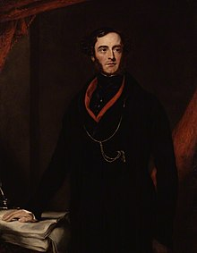 Lord George Cavendish Bentinck by Samuel Lane oil on canvas, circa 1836.jpg