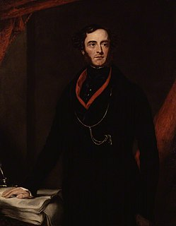 Lord George Bentinck British politician