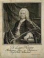 Lorenz Heister. Line engraving by J. H. Bernigeroth, 1742. Wellcome V0002665.jpg