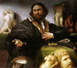 Portrait of Andrea Odoni