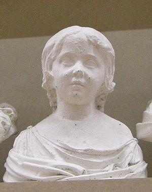 Elisa Bonaparte - Élisa Bonaparte as a child (Lorenzo Bartolini)