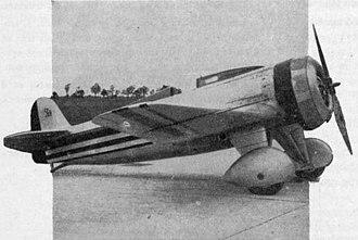 Lorraine Hanriot LH.41 - Image: Lorraine Hanriot LH.41 L'Aerophile Salon 1932