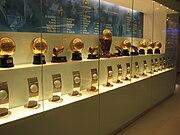 Los balones de oro (Real Madrid)