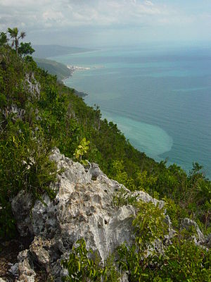 Lovers' Leap Point on jamaica