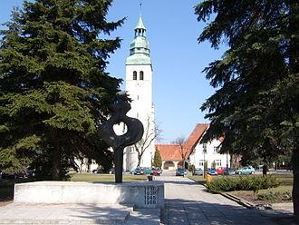 Luboń - St. Barbara's church