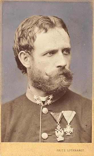 Julius von Payer - Julius Payer as First Lieutenant (around 1865)
