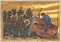 Lucy and Geminianus (Menologion of Basil II).jpg