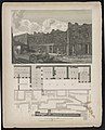 Ludgate prison, with a plan of the London workhouse Sir Paul Pindar's house, lodge LCCN2003674754.jpg