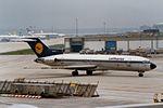 "Lufthansa Boeing 727-230-Adv D-ABKA ""Heidelberg"" (24314738531).jpg"