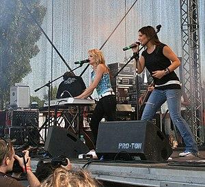 Luttenberger*Klug - Image: Luttenberger Klug Donauinselfest 2007 a