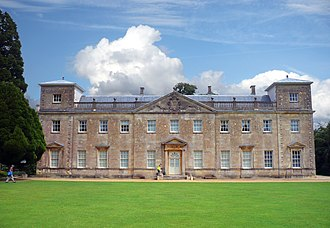 Lydiard Park - Lydiard House from the southwest