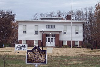 National Register of Historic Places listings in Gibson County, Indiana - Image: Lyles Station