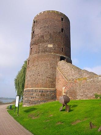 Rees, Germany - Mühlenturm tower of the medieval city wall