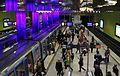 Münchner Freiheit U-Bahnhof Bahnsteige.JPG
