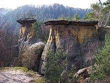 """The Lids"" rock formation"