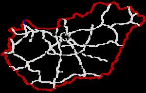 M15 motorway (Hungary) - Image: M15 Autóút Hungary