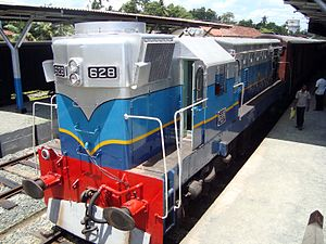 EMD G12 - Sri Lanka Railways Class M2D 628