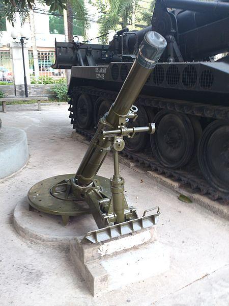 موسوعة: القوات البرية الملكية السعودية 450px-M30_mortar_at_the_War_Remnants_Museum