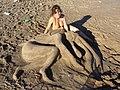 MARY - ESCULTURAS DE ARENA EN LAS PLAYAS DE ARENAS VERDES - panoramio (9).jpg